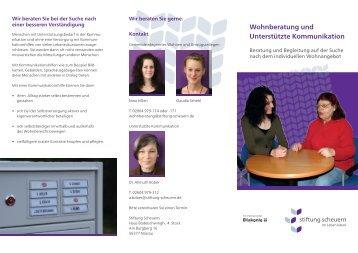 Wohnberatung und Unterstützte Kommunikation - Stiftung Scheuern