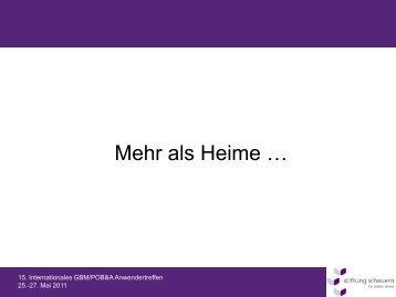 Vorstandsklausur 01.09.2009 - Stiftung Scheuern