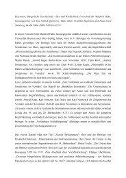 Rezension: Bürgerliche Gesellschaft – Idee und Wirklichkeit ...