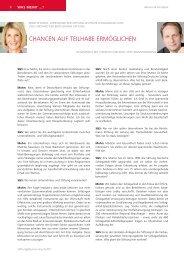 Interview mit Brigitte Mohn - Stiftung & Sponsoring