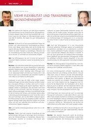 Zum Interview - Stiftung & Sponsoring