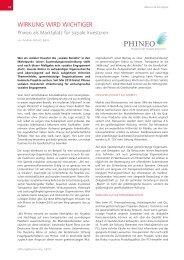 Zum Artikel in S&S Ausgabe 1/2011 - Stiftung & Sponsoring
