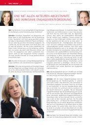 Kristina Schröder im Gespräch mit Stiftung&Sponsoring;