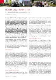 Zum Artikel, erschienen in Stiftung&Sponsoring; 5/2010