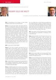 Interview mit Hans Küng - Stiftung & Sponsoring