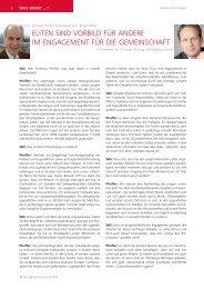 Christian Pfeiffer im Gespräch mit Stiftung&Sponsoring;