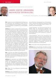 Interview mit Johannes Hoffmann - Stiftung & Sponsoring