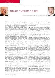 PDF-Download des Interviews - Stiftung & Sponsoring