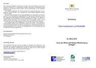Kommunikation und Mobilität - Alcatel-Lucent Stiftung für ...