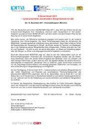E-Government 2015 - Alcatel-Lucent Stiftung für ...