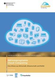 Aktionsprogramm Cloud Computing Aktionsp Cloud Co