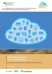 Aktionsprogramm Cloud Computing