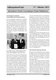Stiftungaktuell Info 37 Okt.2011 - Alcatel-Lucent Stiftung für ...