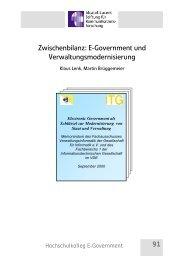 E-Government und Verwaltungsmodernisierung - Alcatel-Lucent ...