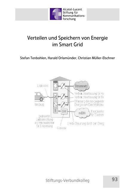 Verteilen und Speichern von Energie im Smart Grid - Alcatel-Lucent ...