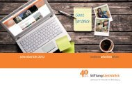 Jahresbericht 2012 - Stiftung Säntisblick
