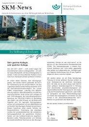 SKM-News 1 2011 - Stiftungsklinikum Mittelrhein Koblenz