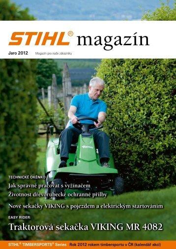 Jaro 2012 - Stihl
