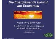 Die Energiewende kommt ins Dreisamtal