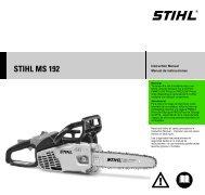 STIHL TS 700/800 Cutquik® Professional Cut-Off Saw Instructional
