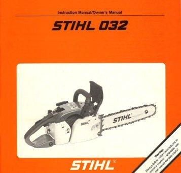 032 - Stihl