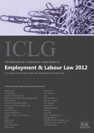 Employment & Labour Law 2012 - Stikeman Elliott