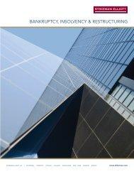 Bankruptcy, Insolvency & Restructuring - Stikeman Elliott