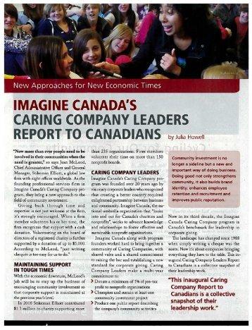 Imagine Canada - Stikeman Elliott