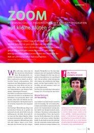 Zoom auf kleine Blüten - Stilblüte Marketing und Kommunikation