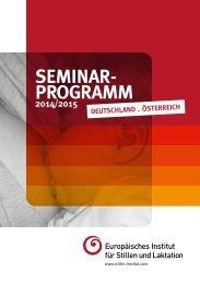 Seminarprogramm 2014/15 - Europäisches Institut für Stillen und ...
