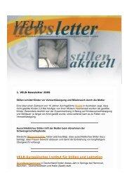 VELB-Newsletter 1/2009 - Europäisches Institut für Stillen und ...