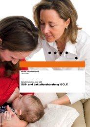 Detailinformationen CAS Still- und Laktationsberatung IBCLC