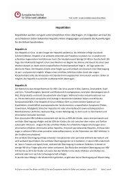 Hepatitiden - Europäisches Institut für Stillen und Laktation