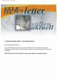 9. VELB Newsletter 2009 - Europäisches Institut für Stillen und ...
