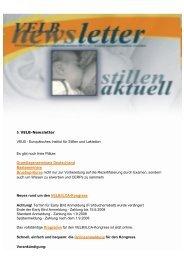 VELB-Newsletter Nr.5 - Europäisches Institut für Stillen und Laktation