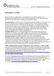 Zytomegalievirus (CMV) - Europäisches Institut für Stillen und ...