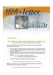 11. VELB Newsletter - Europäisches Institut für Stillen und Laktation