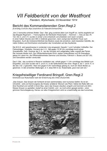 VII Feldbericht von der Westfront - DIE LINKE. Neuenhagen