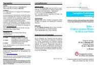 Evidenz basiertes Wissen für Klinik und Praxis - Europäisches ...