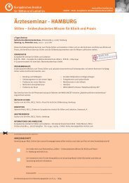 Ärzteschulung als Tagesseminar - Europäisches Institut für Stillen ...