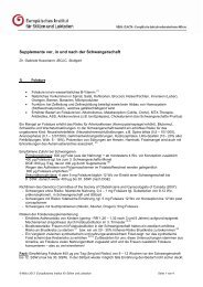 Supplemente vor, in und nach der Schwangerschaft - Europäisches ...
