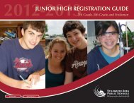 2012-2013 Junior High Registration Guide - Stillwater Area Schools