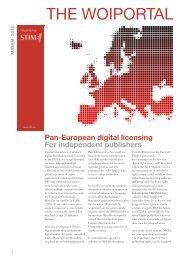 WOI portal information leaflet (pdf) - Stim