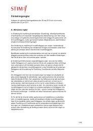 Fördelningsregler (pdf) - Stim