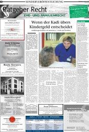 tenn der Kadi übers Kindergeld entscheidet - Stimberg Zeitung