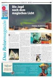 Das Reisemagazin - Waltroper Zeitung