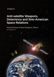 Anti-satellite Weapons, Deterrence and Sino-American Space ...
