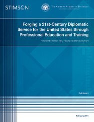 Forging a 21st-Century Diplomatic Service for the United States ...