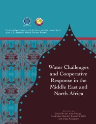 Water Challenges and Cooperative Response in the Middle East ...