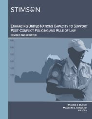 Enhancing United Nations Capacity to Support Post-Conflict ...